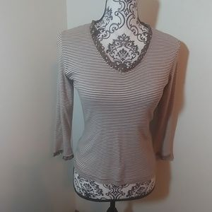 Boden stripped long sleeve top.